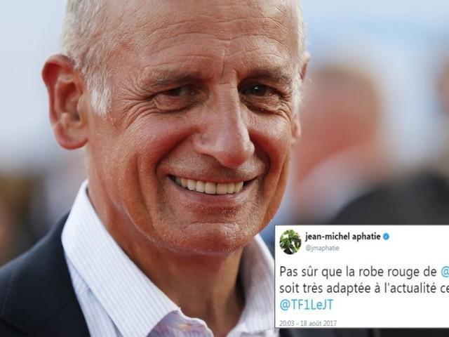 Jean-Michel Aphatie nous explique son tweet sur la robe d'Audrey Crespo-Mara au lendemain des attentats de Barcelone