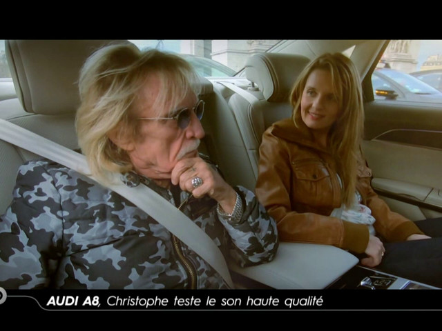 Audi A8, Christophe teste le son haute qualité - Reportage TURBO du 19/01/2020