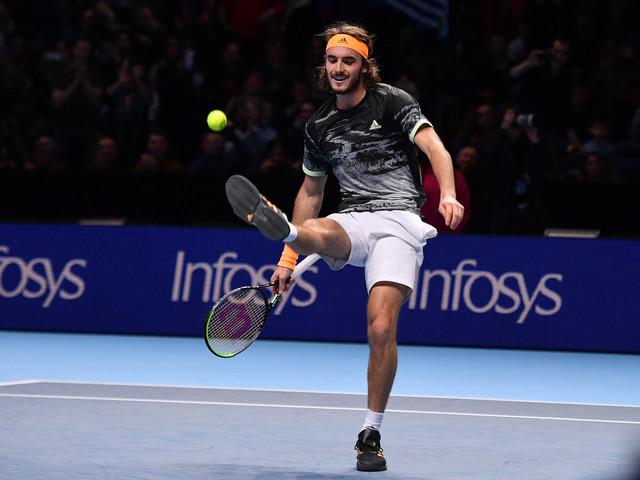 Tennis: Tsitsipas contre Thiem, finale de novices au Masters