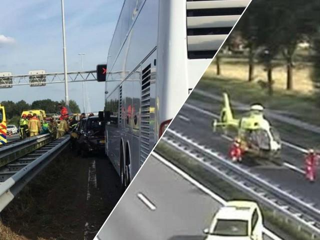 Un bus belge avec des enfants impliqué dans collision en chaine aux Pays-Bas: il n'y a pas eu de blessés
