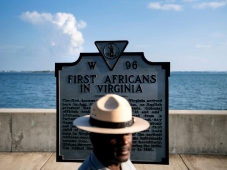 """Les Etats-Unis commémorent l'arrivée d'Angela, """"Eve"""" des esclaves africains"""