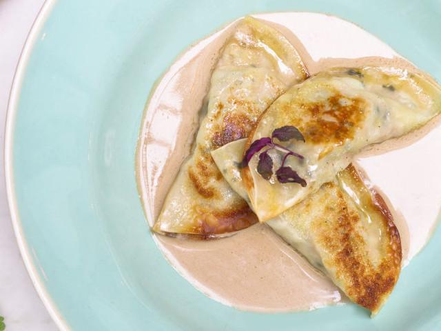 Recette : Gyozas à la bisque de langoustine