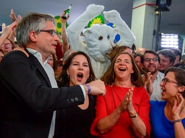Européennes 2019 : comment les Verts sont devenus les nouveaux maîtres de l'échiquier politique allemand