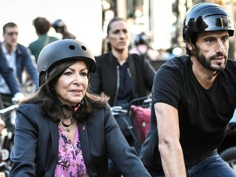 Paris : Anne Hidalgo compte supprimer 60 000 places de stationnement au profit de pistes cyclables
