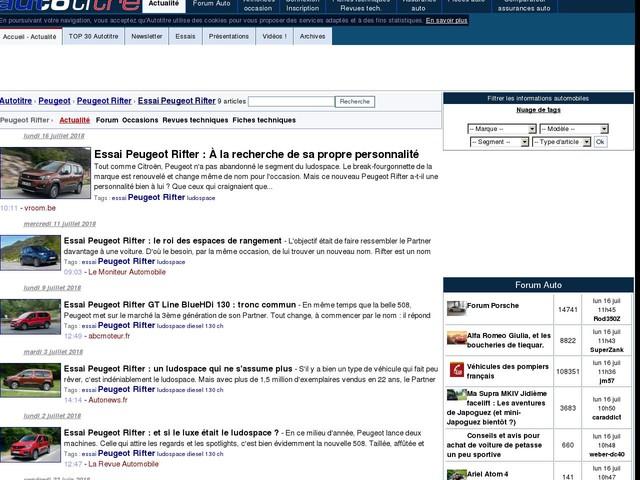 Essai Peugeot Rifter : À la recherche de sa propre personnalité