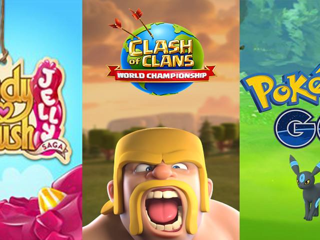 Clash of Clans, Pokémon GO, Candy Crush, quel jeu mobile a généré le plus de recettes trois ans après sa sortie ?