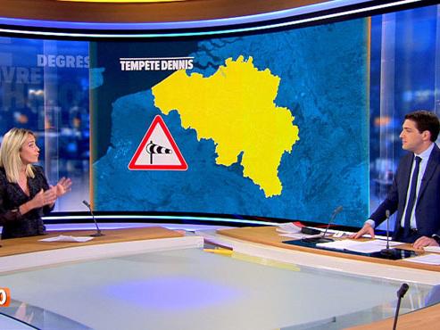 La tempête Dennis touchera la Belgique dimanche: à quoi faut-il s'attendre?