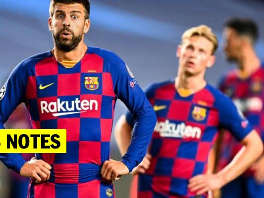 Les notes du Barça conte le Bayern