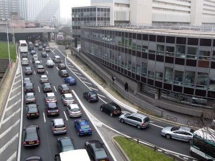 Ces records de bouchons sur le réseau routier de l'agglomération parisienne
