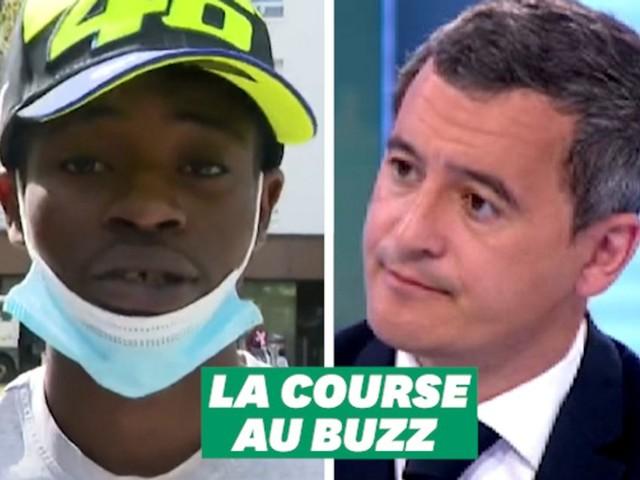 A Grenoble, Darmanin a-t-il été battu dans la course au buzz par un jeune rappeur?