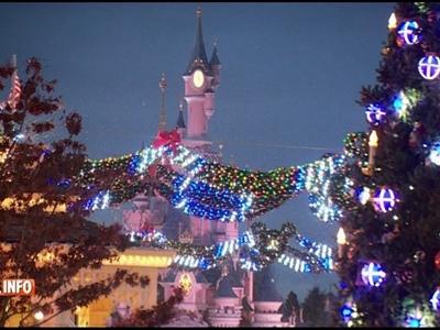 Disneyland Paris: la magie de Noël orchestrée par 2 Belges