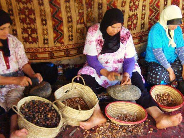 Argan, couscous et autres produits du terroir s'invitent dans les malls et supermarchés marocains