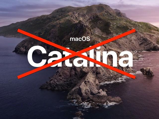 Catalina: l'une des pires mises à jour de macOS?