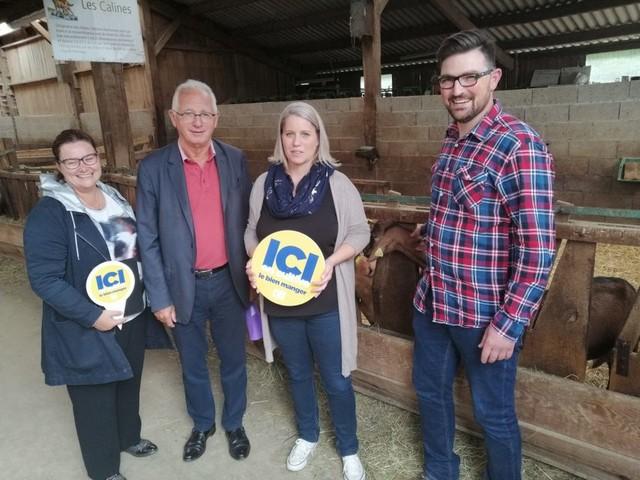 A Montchamp, la chèvrerie de la Saffrie proposera bientôt des glaces au lait de chèvre