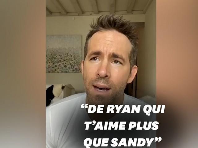 Ryan Reynolds jaloux de Sandra Bullock dans un message d'anniversaire