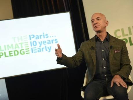 Bezos veut aider à remplir les objectifs de l'accord de Paris