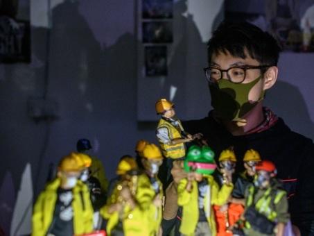 Toy Story: les manifestants hongkongais en figurines dans des magasins de jouets