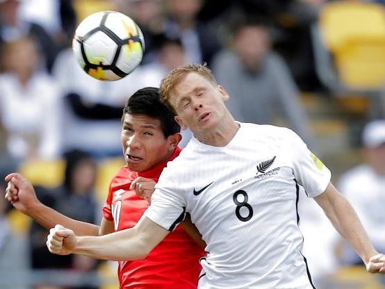 Foot - CM 2018 - CM 2018 : le Pérou tenu en échec en Nouvelle-Zélande