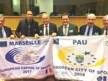 Pau, Ville Européenne du Sport 2018