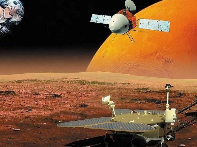 La Chine atteint Mars pour la première fois, le début d'une longue course face à la Nasa