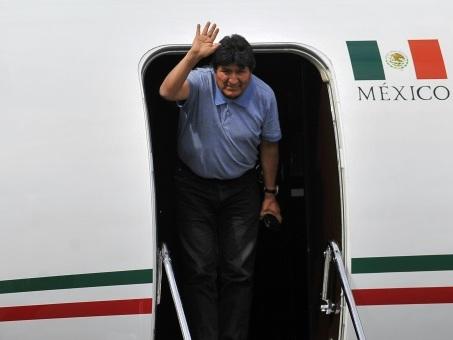Le périple rocambolesque de l'ex président bolivien Morales pour rallier Mexico