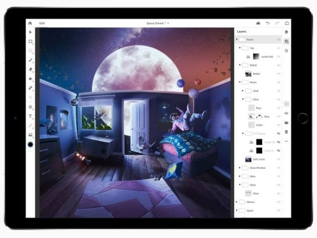 Photoshop pour iPad toujours prévu pour 2019, certaines fonctions manquantes