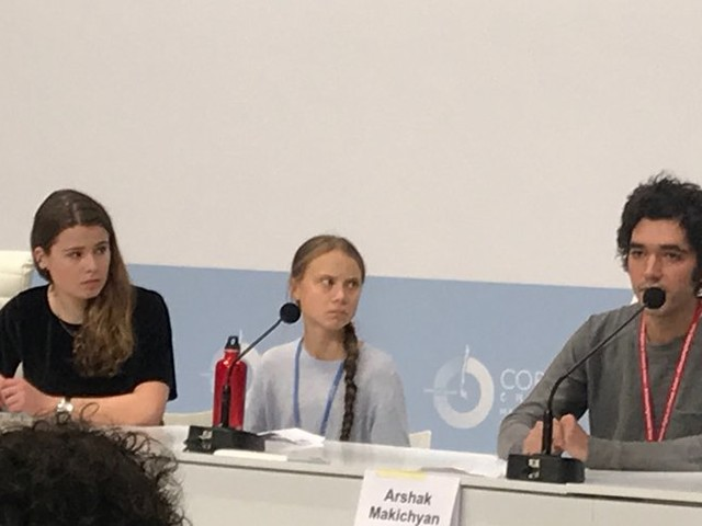 Cop25 à Madrid : un millier de journalistes face à une Greta Thunberg quasi mutique