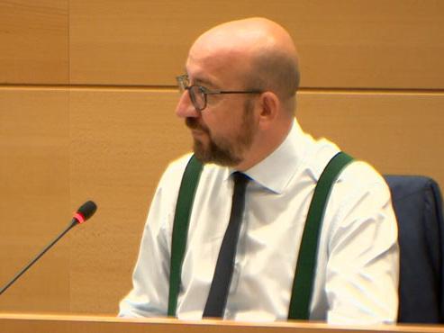Désignation du commissaire européen: Charles Michel défend le choix de Didier Reynders (vidéo)