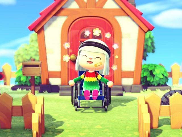 De plus en plus inclusif, Animal Crossing permet aux personnages d'avoir une chaise roulante