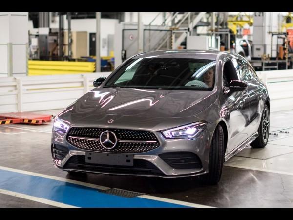 Mercedes CLA Shooting Brake (2019) : en production