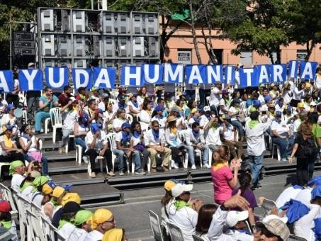Au Venezuela, les volontaires veulent participer à l'entrée de l'aide