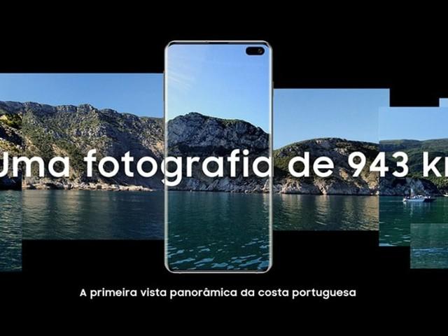Grâce au Galaxy S10+, Samsung a créé un panoramique de 943 km