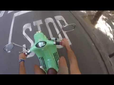Le scooter électrique en libre-service Yugo disponible à Bordeaux
