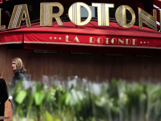 Incendie au restaurant La Rotonde à Paris