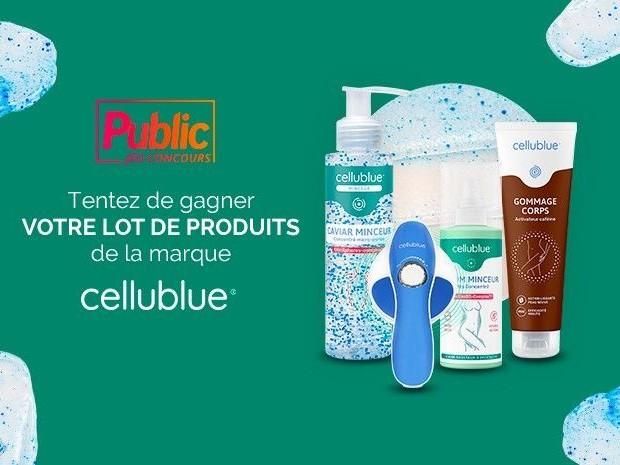 Jeu concours Public : Remportez un coffret beauté de la marque Cellublue