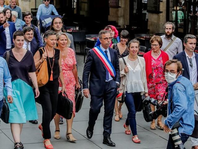 Le nouveau maire de Bordeaux Pierre Hurmic a choisi ses adjoints