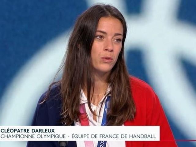 """Handball: Cléopatre Darleux déçue par """"L'Équipe"""" après l'or aux JO"""