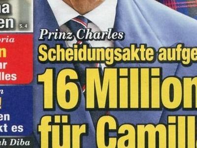 Camilla Parker-Bowles, ça coince avec Charles, 16 millions pour un divorce (photo)