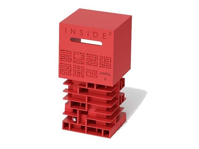Ce jouet renferme un labyrinthe caché idéal pour se creuser les méninges