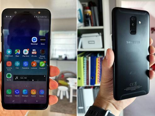 Vous cherchez un smartphone Samsung pas trop cher? Le Galaxy A6+ est le meilleur rapport qualité-prix de la marque, nous l'avons testé (PHOTOS)