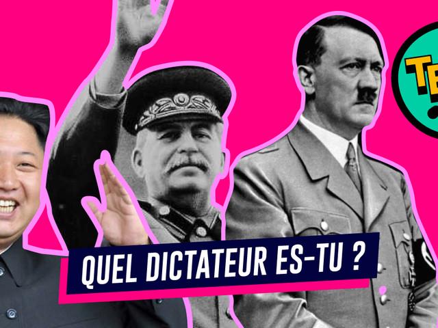 Quel dictateur es-tu ? (un test avec des vrais morceaux de méchants à l'intérieur)