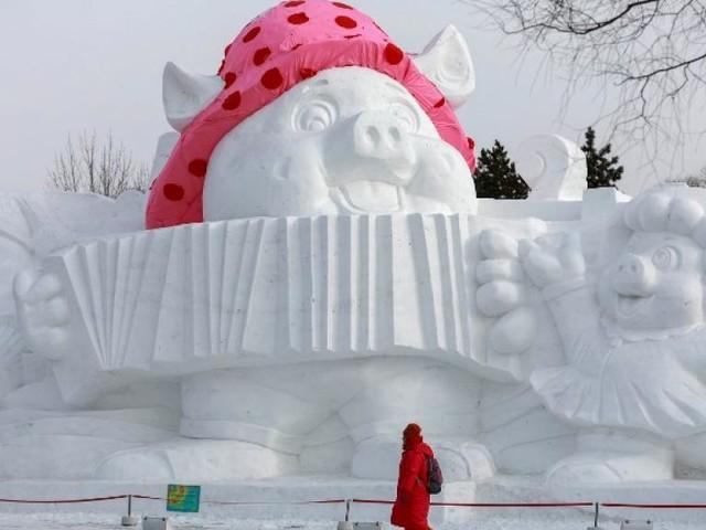 Le cochon à l'honneur cette année en Chine pour le Nouvel An lunaire