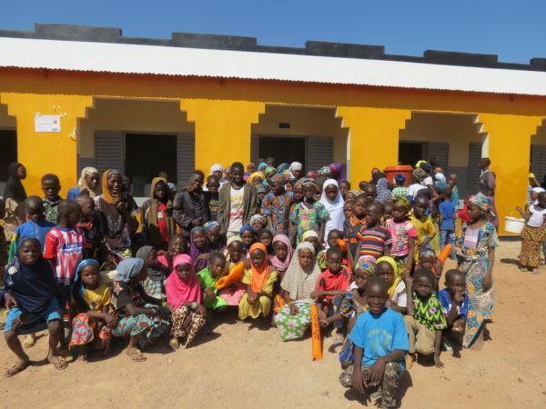 Inauguration du village Orange de Tabacoro Biba