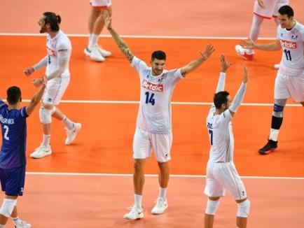 Euro de volley: les Français impressionnent contre la Bulgarie pour leur premier test