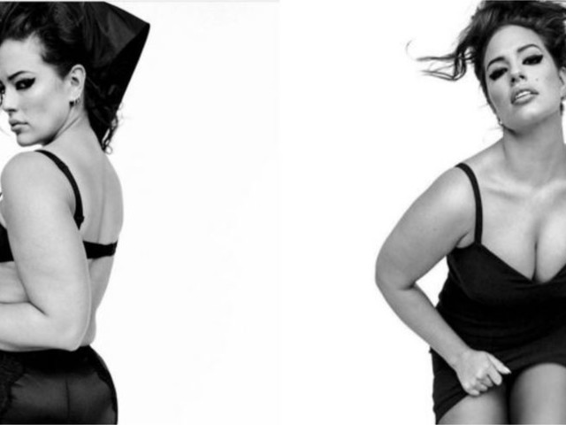 Hot : Ashley Graham pose en lingerie et sans aucune retouche