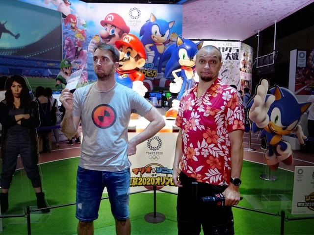Action, réactions - Puyo et Greg tiennent une forme olympique sur le stand Sega du TGS 2019