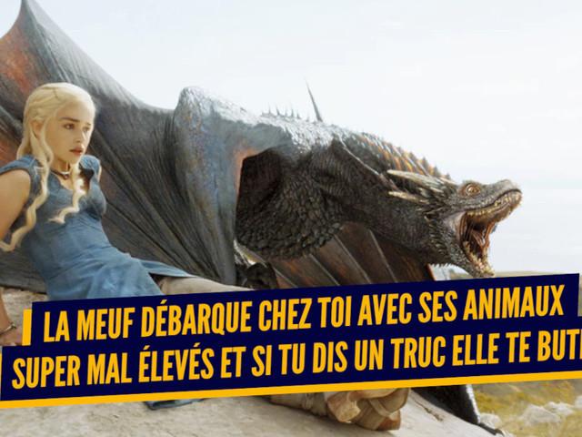 Top 10 des preuves que Daenerys est la pire connasse de Game of Thrones, une bonne grosse peste