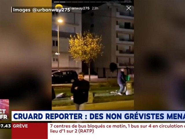 Cruard Reporter : des non-grévistes menacés