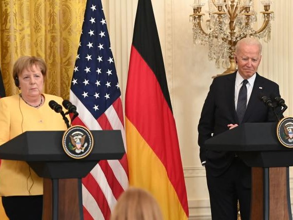 Accord entre Washington et Berlin pour surmonter leur dispute sur le gazoduc controversé Nord Stream2