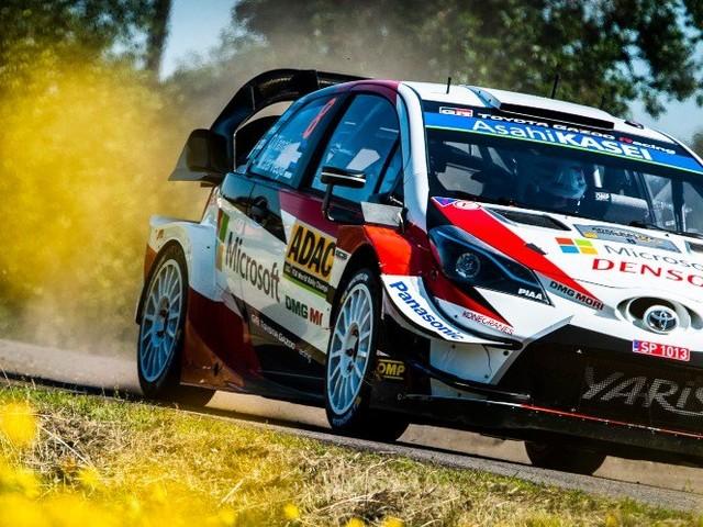 Rallye – WRC – Allemagne : Tänak toujours en tête